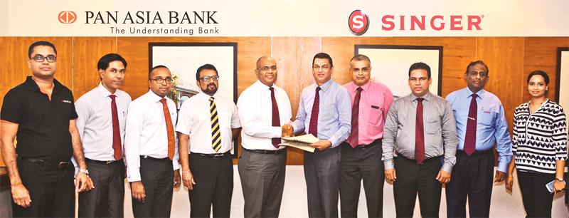 Singer Sri Lanka inks partnership with Pan Asia Bank