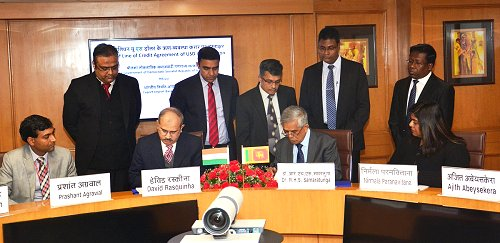 India, Sri Lanka sign agreement for US$ 45 million financial assistance to develop Kankasanthurai harbor