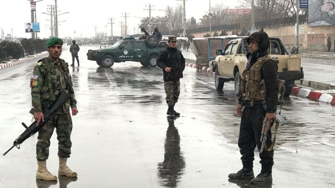 Afghanistan conflict: Deadly attack on Kabul military base