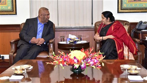Sri Lanka Finance Minister reviews status of economic projects with Indian leaders
