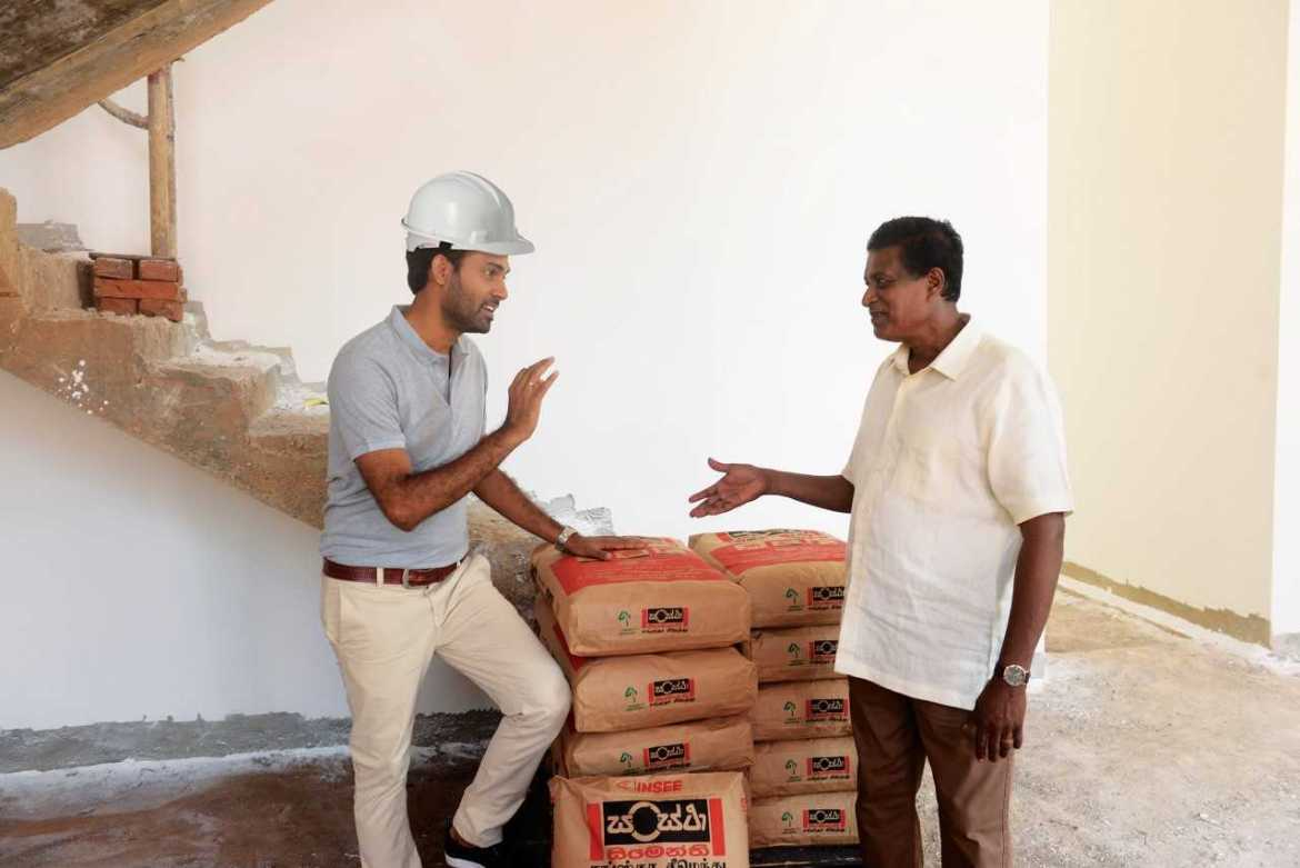 Sri Lankan construction industry levels with global counterparts with the market leader INSEE Sanstha