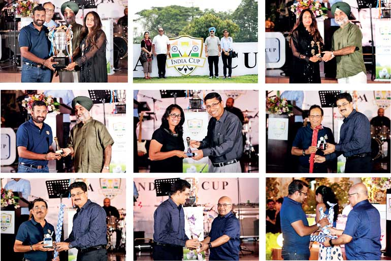 Indo Lanka Chamber of Commerce & Industry holds India Cup Golf Tournament 2018