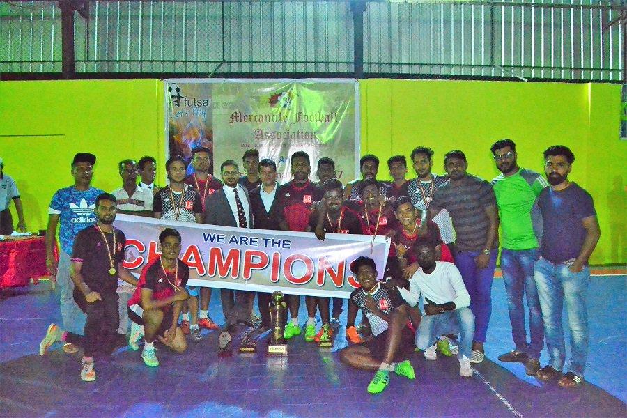 LB Finance down JKH to win Mercantile Futsal