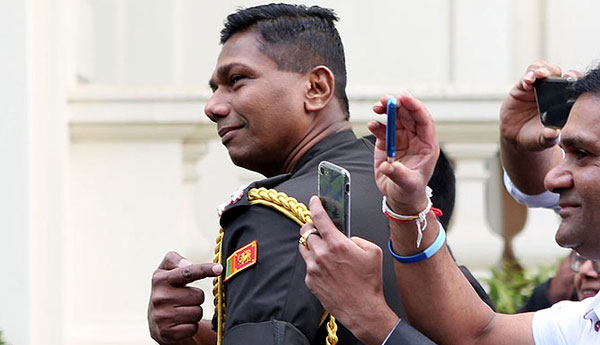 Sri Lanka army chief says defense advisor recalled from UK for his own safety