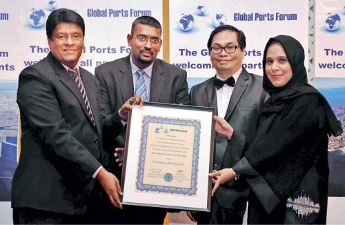 SLPA receives Global Ports Forum's Ports Authority of the Year 2018 Award