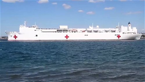 USNS Mercy leaves San Diego bound for Indo-Pacific on Pacific Partnership mission