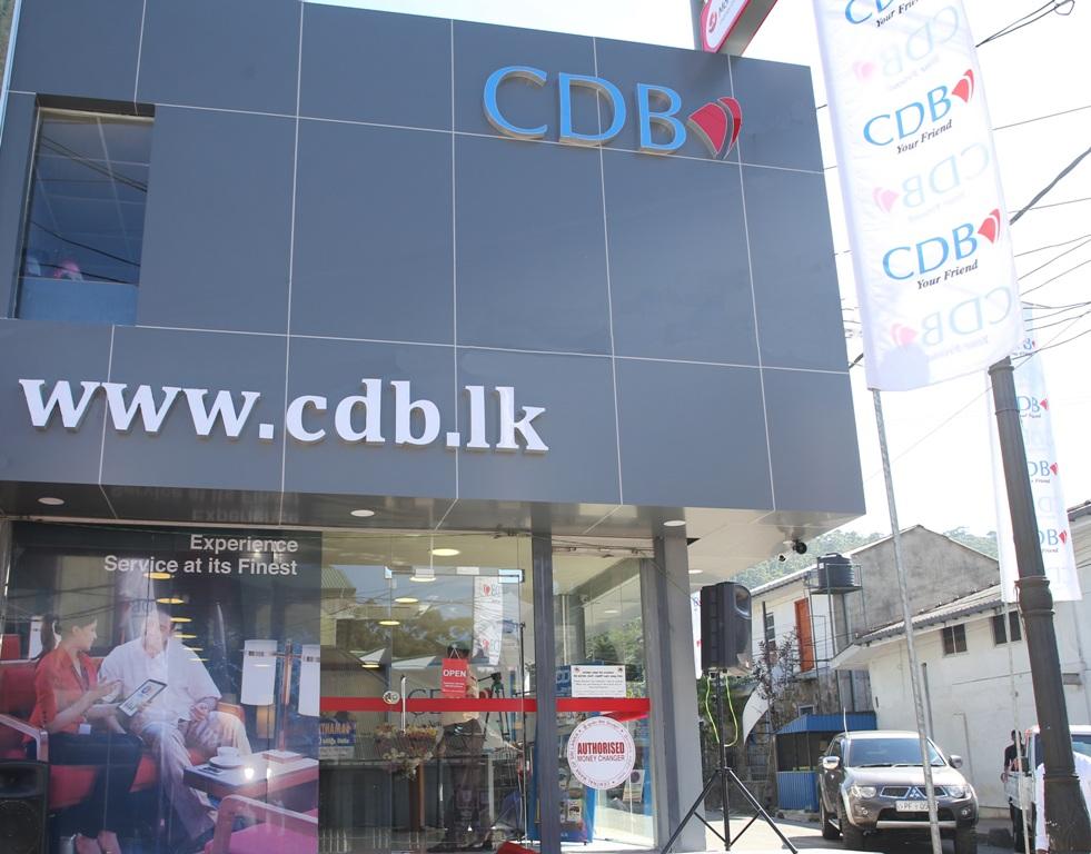 CDB Expands Its Network to Nuwara Eliya