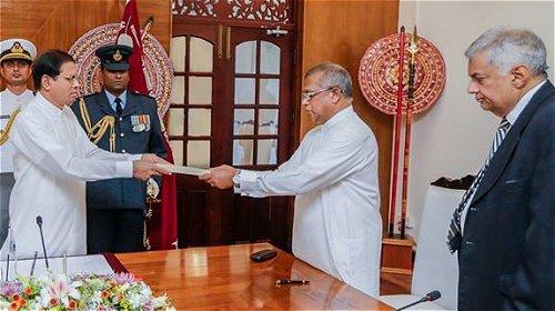 New Law and Order Minister sworn in Sri Lanka
