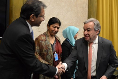 Sri Lanka's leadership at the Conference on Disarmament commended