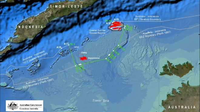 Australia and East Timor sign historic maritime border deal