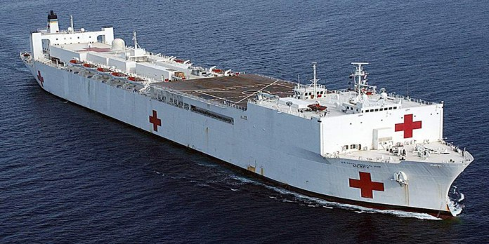 USNS Mercy arrives in Sri Lanka for next phase of US Pacific Partnership mission