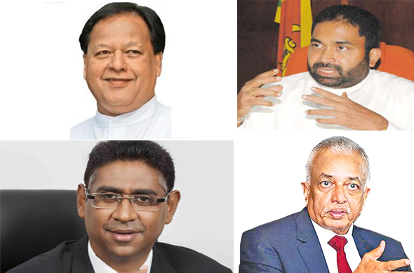 Four Acting Ministers sworn in before President