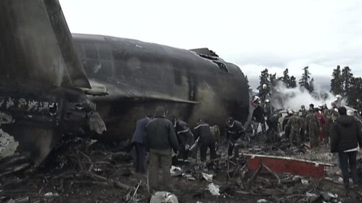 Algeria military plane crash: 257 dead near Algiers