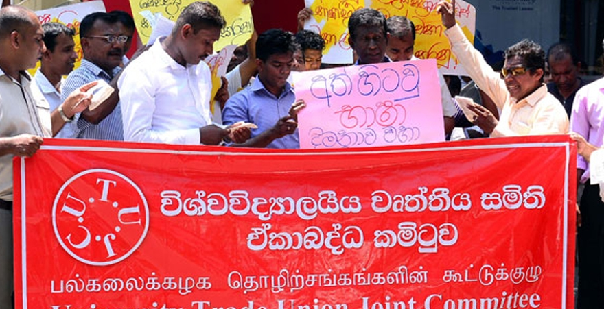 Striking university non-academic staff end strike
