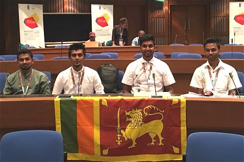 Two Sri Lankan teams shine at the Youth Co:Lab Summit 2018