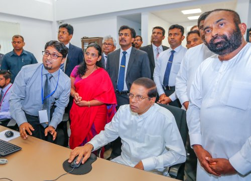 National Electricity Grid Control Center set up to control power generation island wide