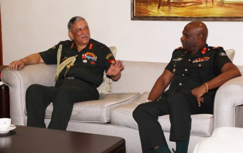 Indian Army chief arrives in Sri Lanka to strengthen military cooperation