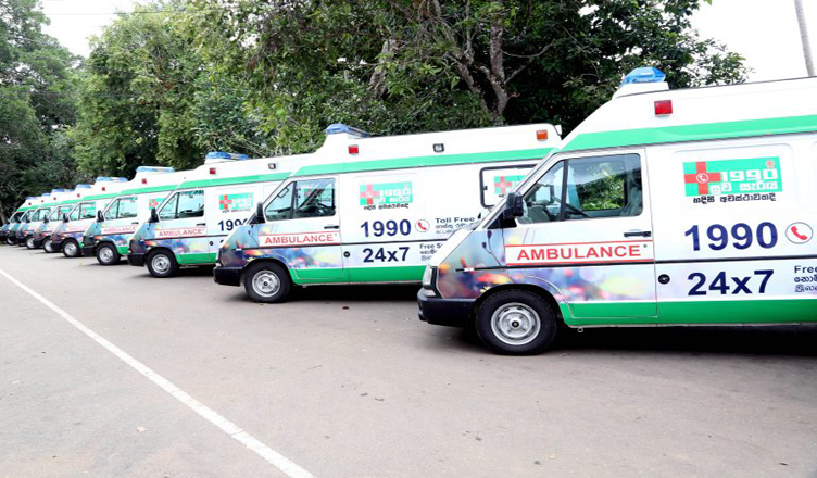 Bill to establish '1990 Suvaseriya Foundation' to expand free ambulance service tabled in parliament