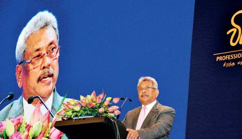 Presidential-aspirant Gota gets going on Vision 2030