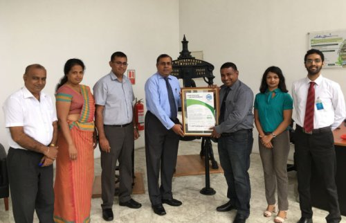 Aitken Spence Printing leads industry with carbon neutrality