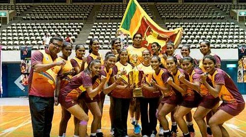 Sri Lanka wins Asian Netball Championship after 9 years