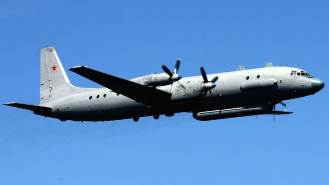 Russian military plane vanishes from radar off Syria