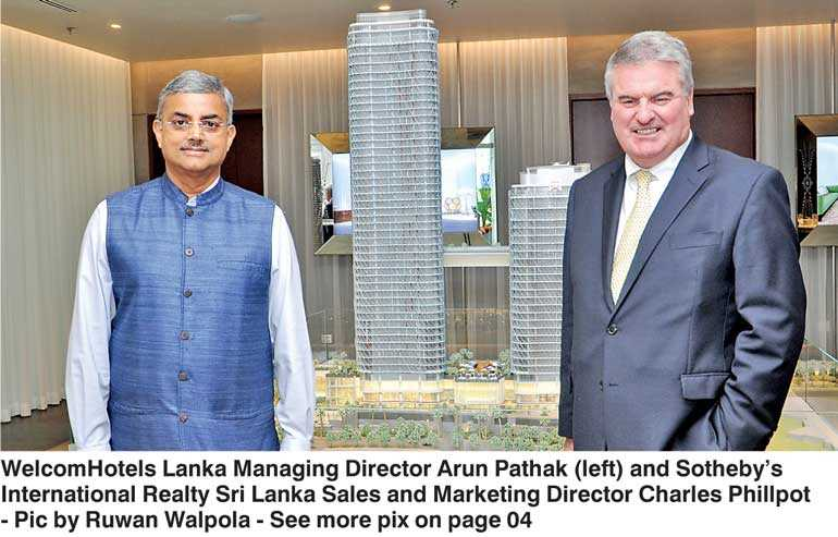 Indian giant ITC optimistic of SL's demand for luxury apartments, tourism