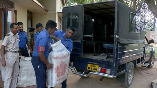 Three apprehended by Navy with 118 Kg of cannabis
