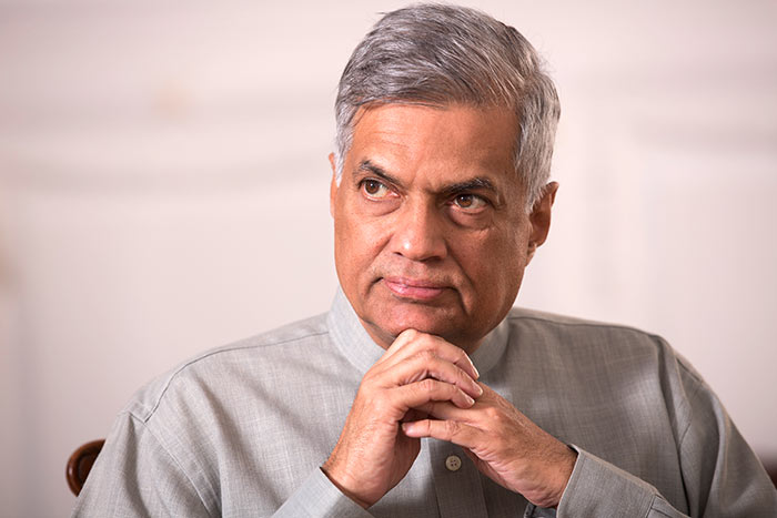 Gazette issued naming Ranil W as a MP