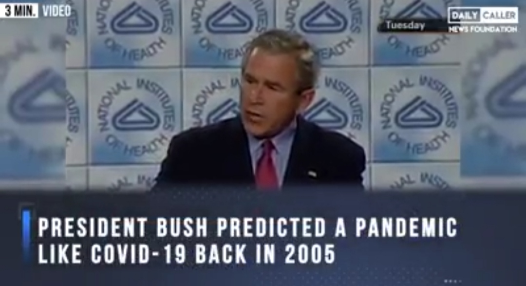 WHAT PRESIDENTIAL BUSH SAID IN 2005