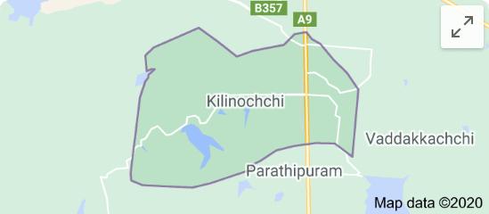 All schools in the Killinochchi District temporarily closed