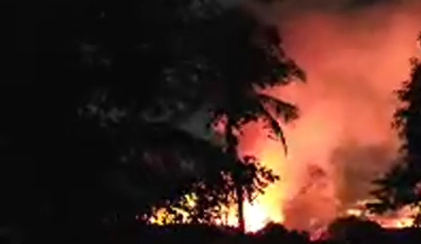 Massive Fire reported from Mahara Prison