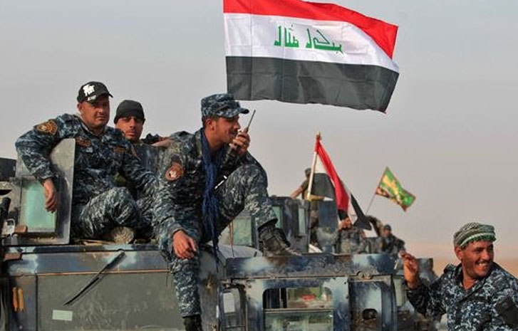 2 Security Members Killed, Is Hideouts Destroyed In Iraq