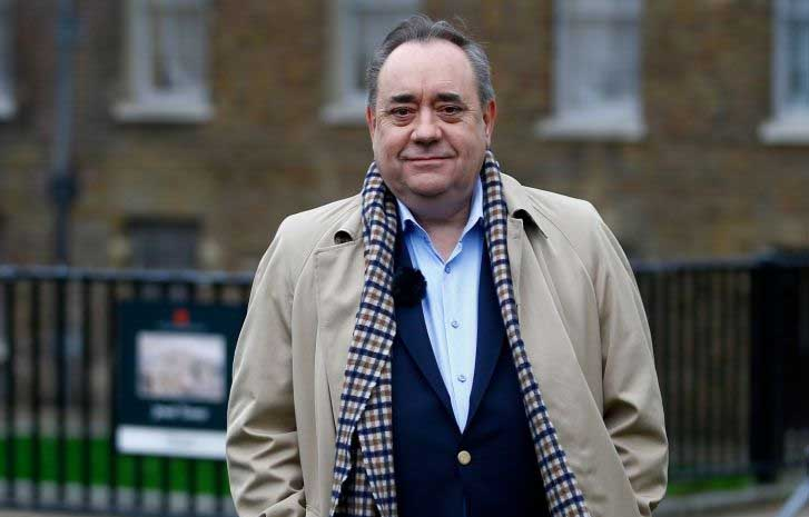 Former Scottish First Minister Salmond