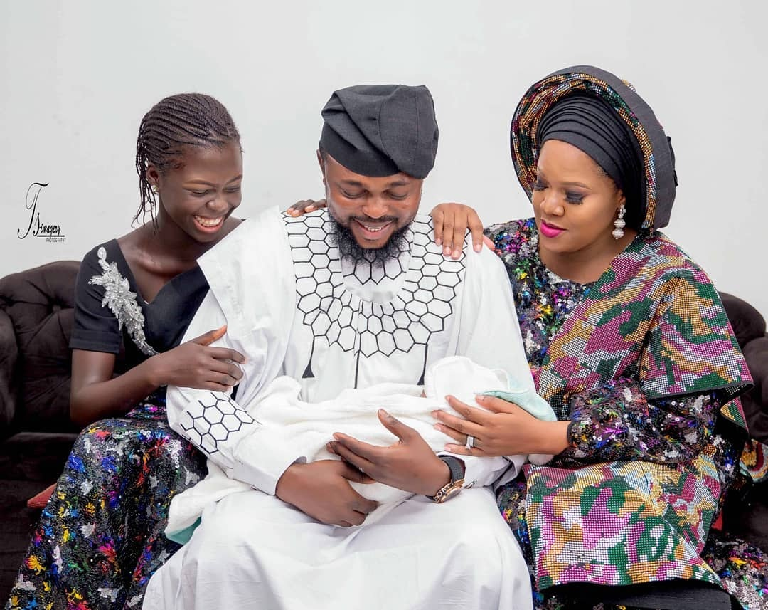 Toyin Abraham Eulogies Husband On His Birthday