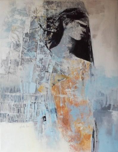 Ada Nori, Paris 2, acrilico su tela, 90x70, 2019