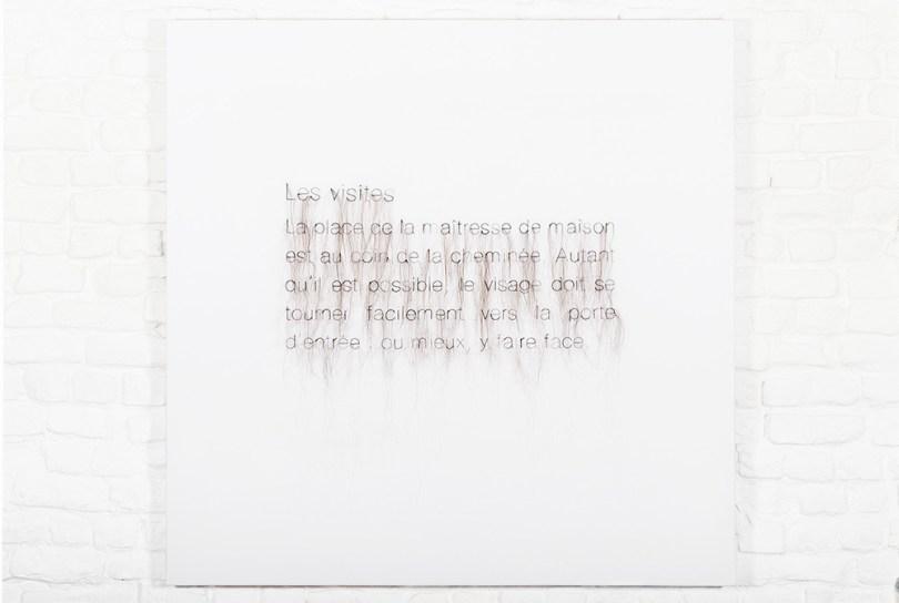 Elyse Galiano, Apolline,Constance et les autres, tecnica mista, 60x120cm, 2014-2018
