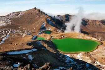Emerald Lakes Tongariro National Park