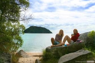 Abel Tasman camp
