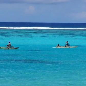 Fishermans in Samoa