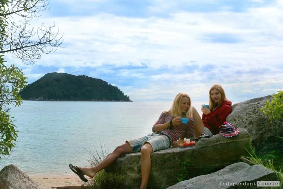 Camping at Abel Tasman Coastal Track