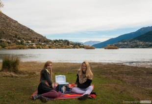 picnic at Queenstown
