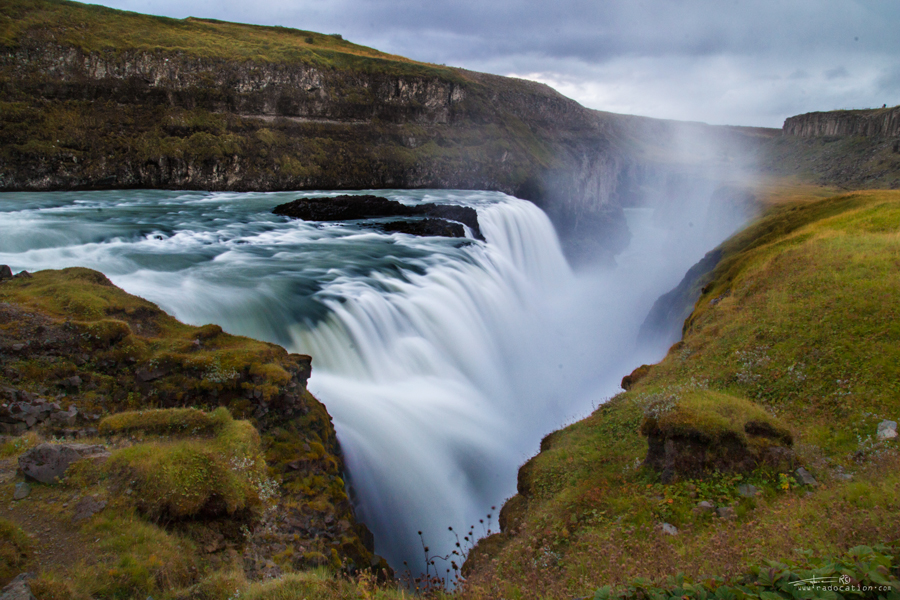Gullfoss waterfall, Gullfoss Iceland, Iceland travel guide