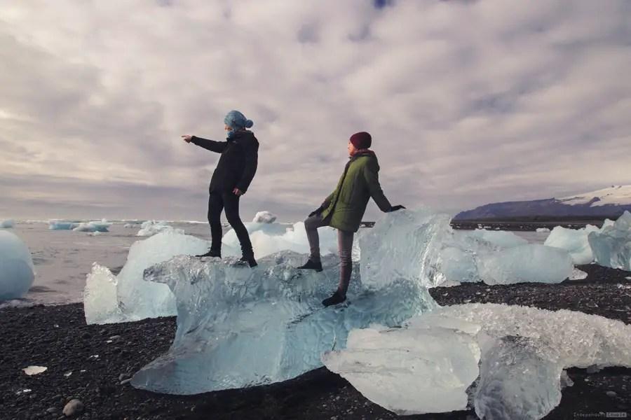Jökulsárlón, Jökulsárlón beach, travel Iceland, travel guide iceland