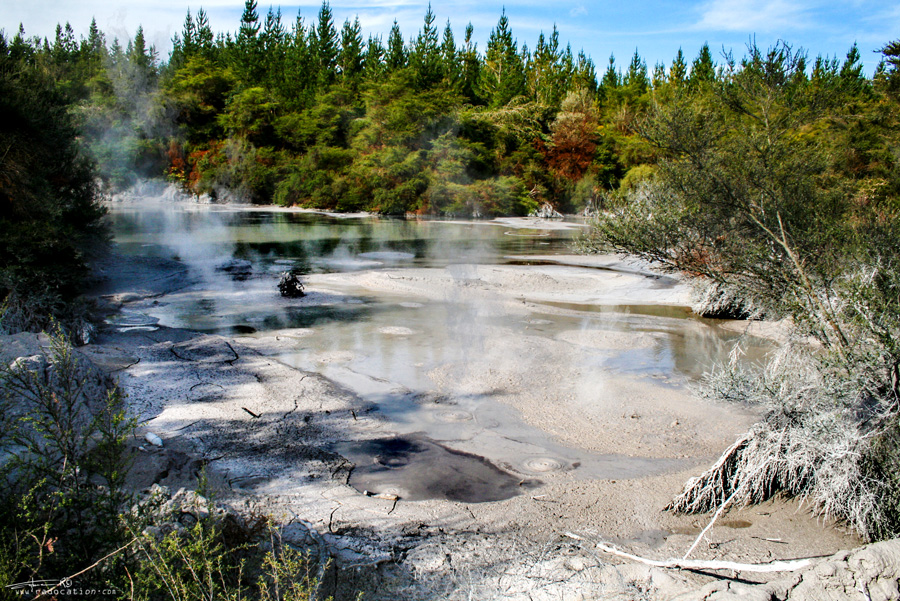 Rotorua, New Zealand, travel, backpacking