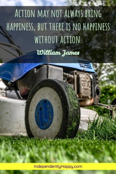 No Happiness Without Action