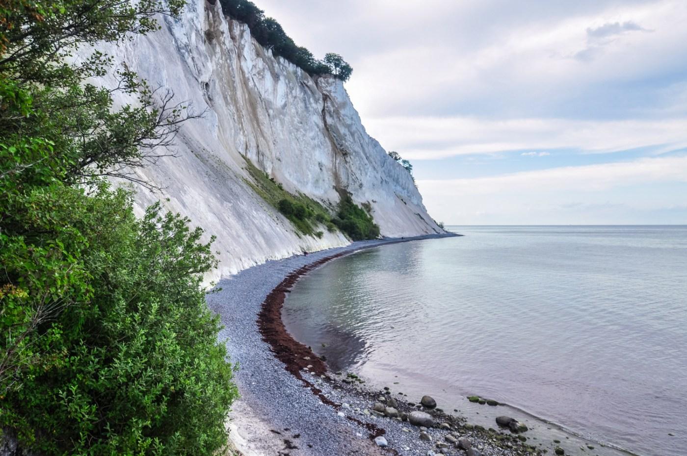 Denmark countryside cliff sea