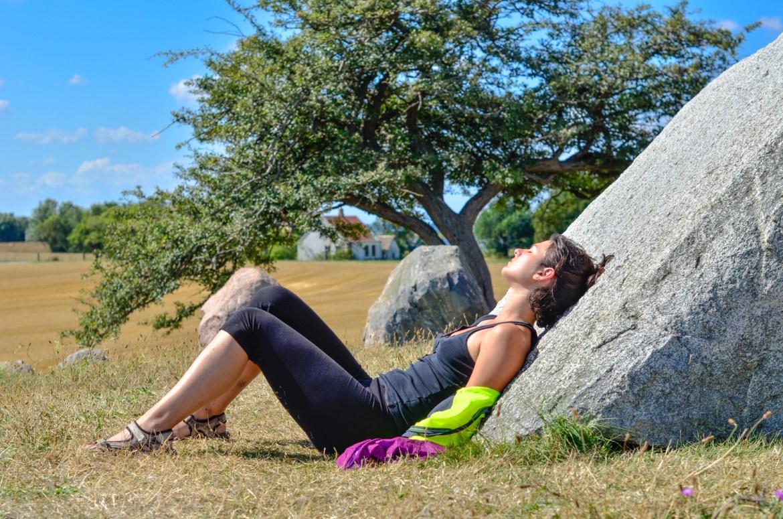 Denmark woman relax