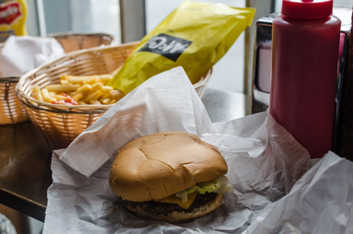 independent people how to cycle in iceland food burger fries