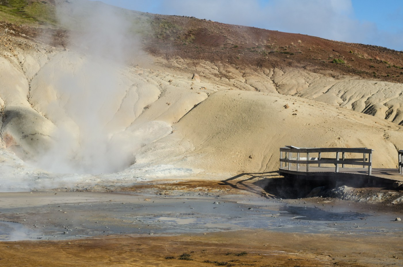 independent people iceland scenery geothermy steam